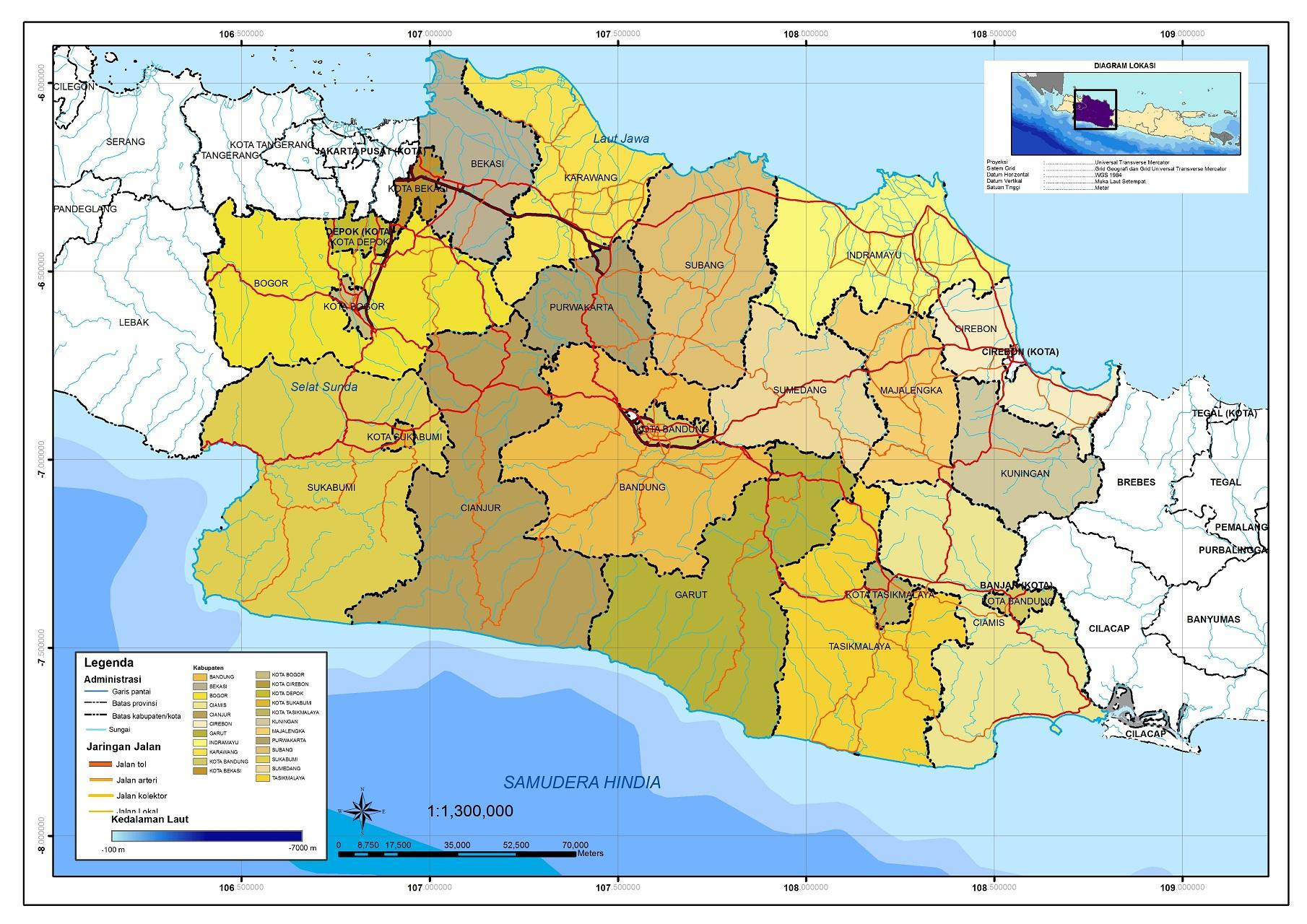 Peta Provinsi Large